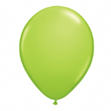 "Qualatex 11 inch Balloons - Lime Green 11"" Balloons (Fashion 100pcs)"